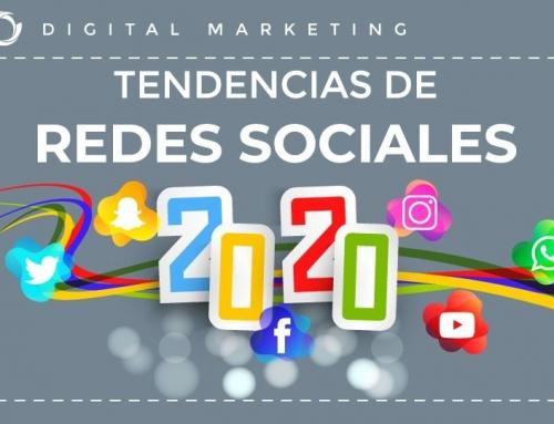 Tendencias de Redes Sociales 2020